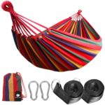 Anyoo AY-Stripe-Hammock-Red-0001