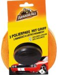 Armor All 3 Polierpads mit Griff