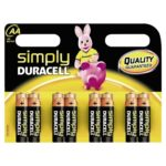 Duracell SIMPLY AA, 8er Pack