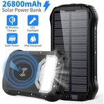 GRDE Power­bank Solar 26.800 mAh