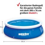 HECHT Quick Up Pool