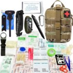 HX OUTDOORS 240 piece First Aid Survival Kit