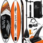 KESSER Auf­blas­ba­re SUP Board Set
