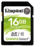 Kingston Canvas Select SD Karte SDS 16GB