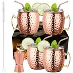 LIVEHITOP Moscow Mule Kupferbecher