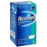 Ni­co­ti­nell 2 mg Mint Lutsch­ta­blet­ten