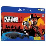 PS4 Slim inkl. Red Dead Redemp­ti­on 2 + 2 Con­trol­ler