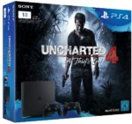 PS4 Slim inkl. Uncharted 4: A Thief's End