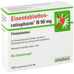 ra­tio­pharm Ei­sen­ta­blet­ten N 50 mg