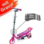Space Scooter X 360 Junior Pink