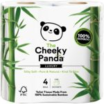 The Cheeky Panda Luxus Bambus Toi­let­ten­pa­pier
