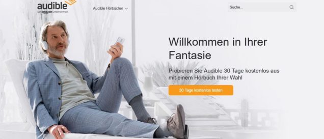 audible Hörbuch 30 Tage kostenlos