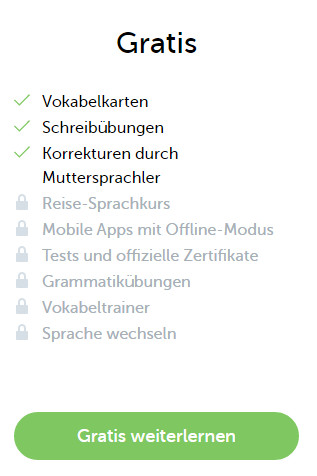 Android app englisch lernen