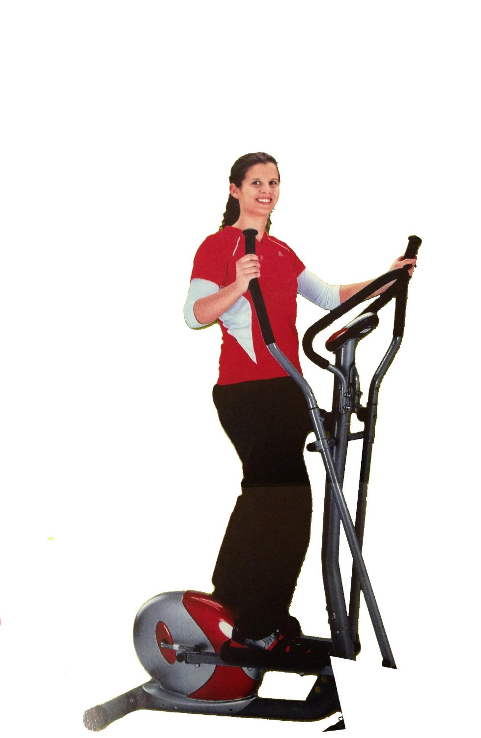 Crosstrainer mit Trainingscomputer