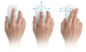 Multi-Touch-Mouse: Apple Magic Mouse