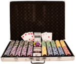 Pokerkoffer 1000 Chips