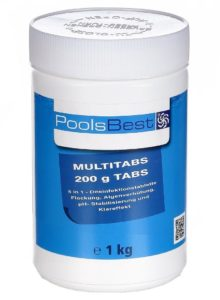 PoolsBest Chlor Multitabs 5in1