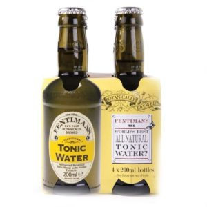 Tonic Water Flasche