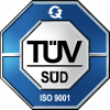 ISO 9001 TÜV-Zertifikat: