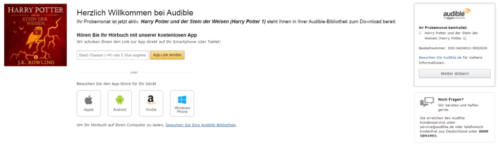 audible step 3