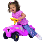 bobby car classic girlie pink