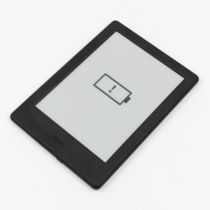 Akku leer im eBook-Reader-Test