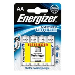 Energizer Batterien Ultimate Lithium, 4er Pack