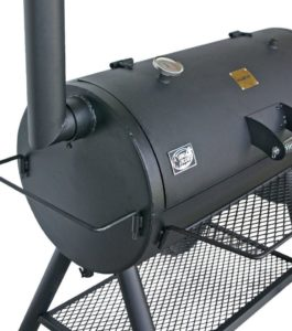 Barrel-Smoker Grill