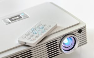 Mini home cinema LED projector