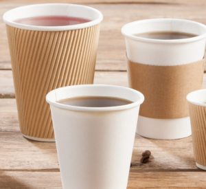 Coffee to go-Becher Pappe <span class=