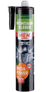 montage kleber mega power