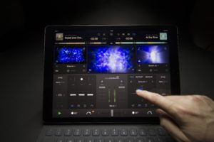 Mobile DJ-Software algoriddim djay pro für iPad