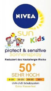 Nivea Sun Kids Protect and Sensitive