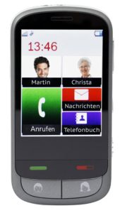 Das Touch Mobile Phone von Olympia.
