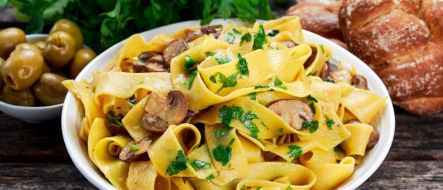 Pappardelle-Test