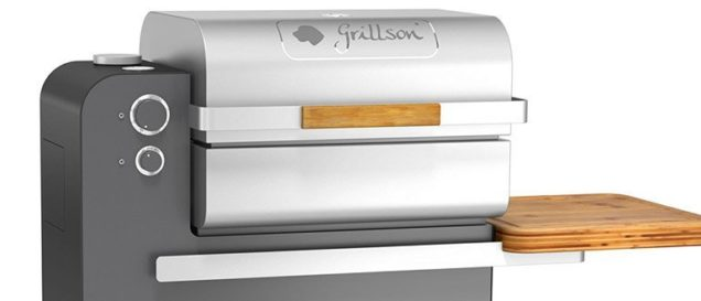 Pelletgrill Grillson im Detail