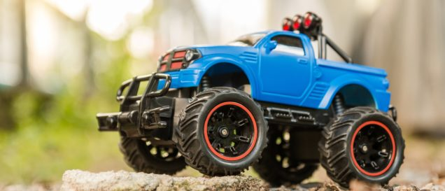 RC-Monstertruck-Test
