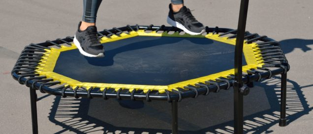Sport-Trampolin-Test
