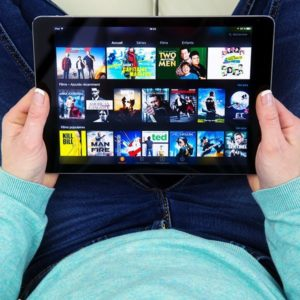 tablet mit fire os: prime video