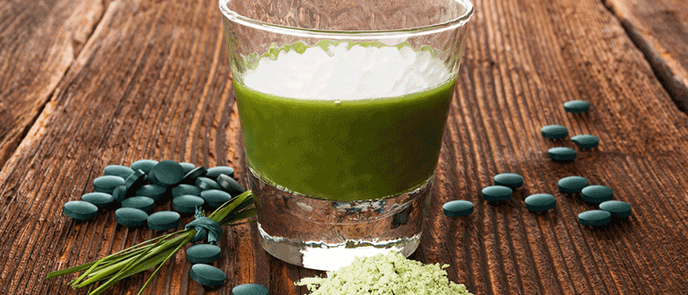 Chlorella Präparate